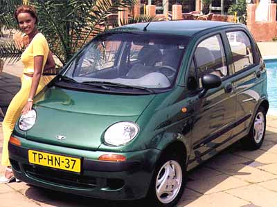 Daewoo Matiz S 5-door hatchback 1998